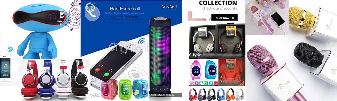 Contact Citycell Karaoke Mikrophone Speaker headsphone Led Gps Watch Traker Smart watch