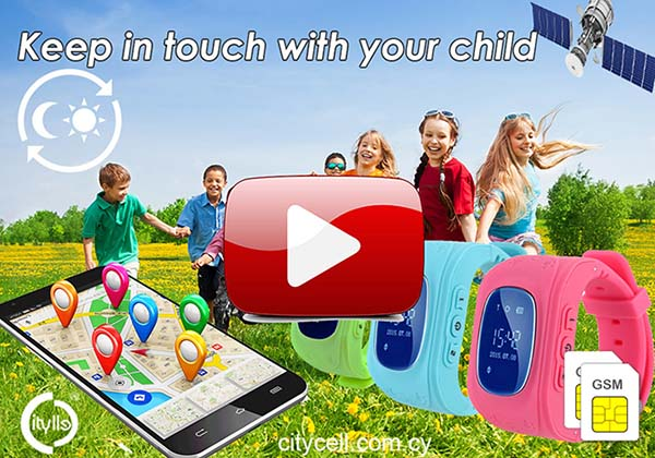 Gps Tracker Kids Watch