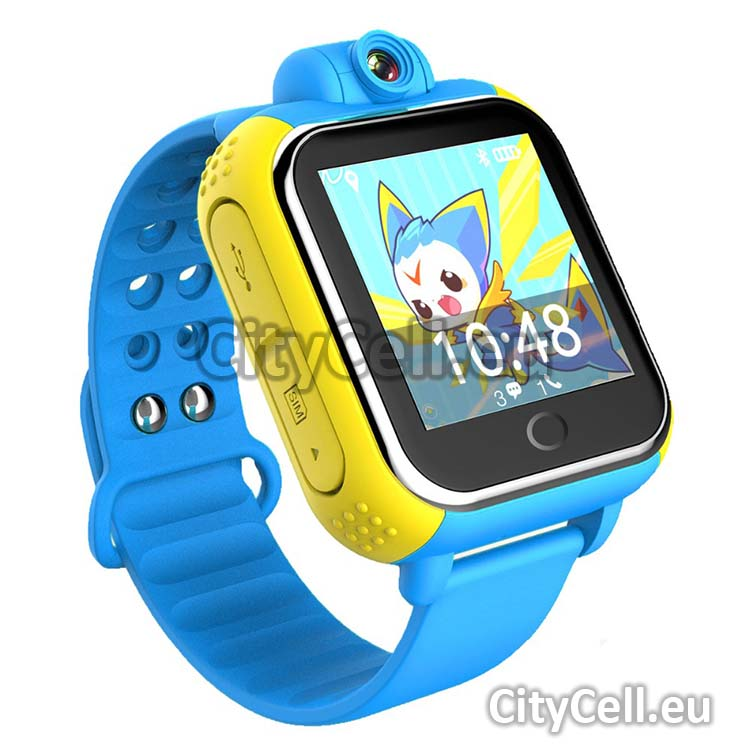 Gps Child Watch Tracker CY18 Blue 3G GSM Camera Front 88