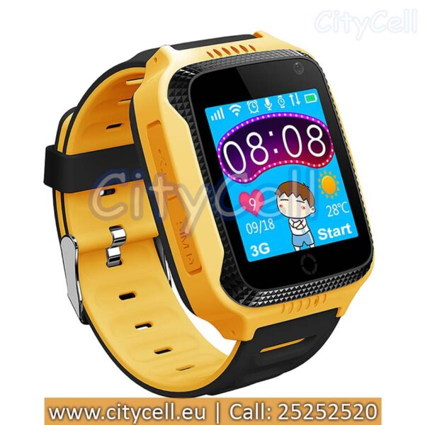 Gps Child Watch Tracker CY26 Yellow