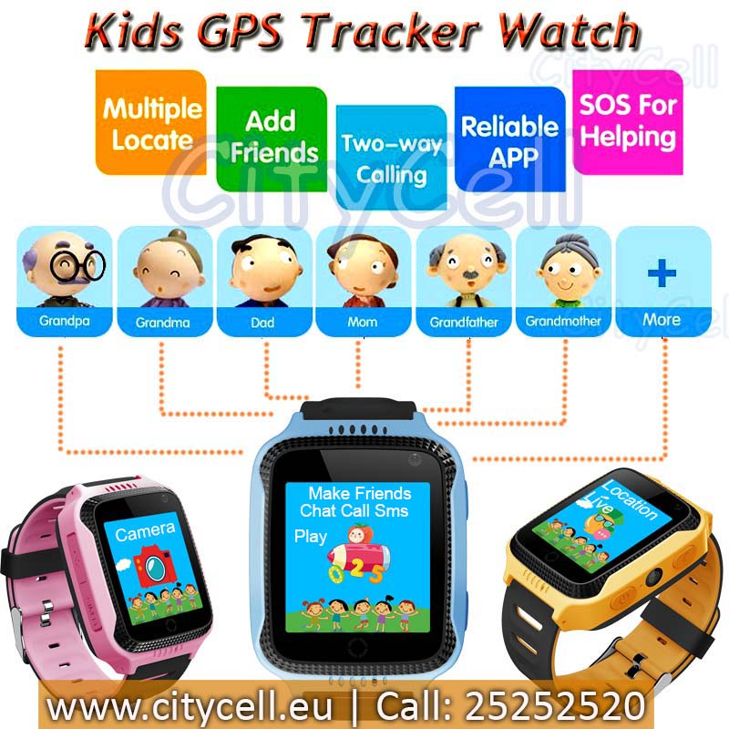 Gps Child Watch Tracker CY26