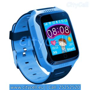 Gps Child Watch Tracker CY26 Blue