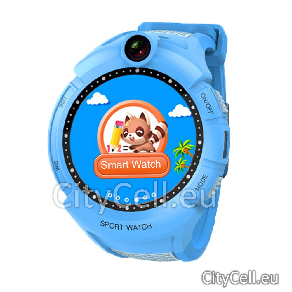 Gps Child Watch Tracker CY90 Blue Sport 3G GSM Camera Video