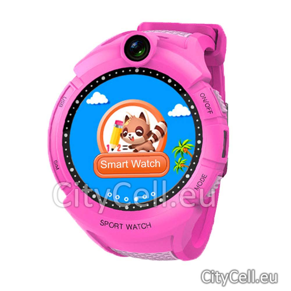 Gps Child Watch Tracker CY90 Pink Sport 3G GSM Camera Video