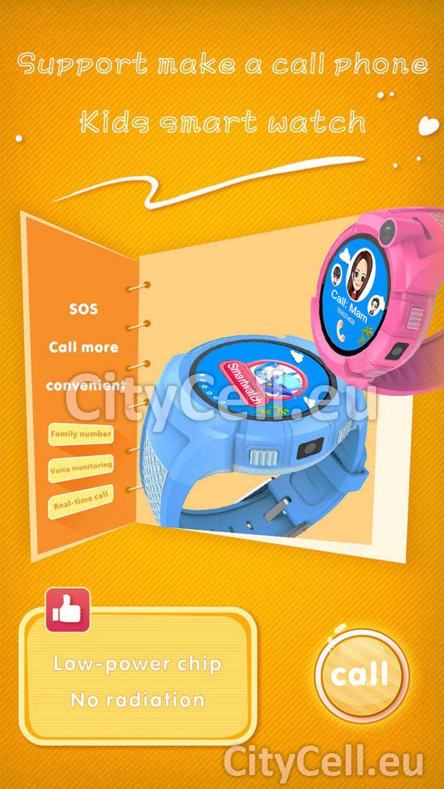Gps Child Watch Tracker CY90 sport