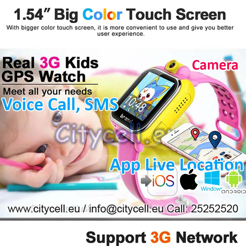 Watch Kids Gps Locator Tracker GSM SMS a Voice1