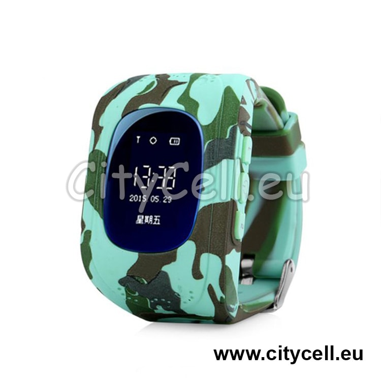 Gps Watch Kids Tracker GSP CY2 Army A