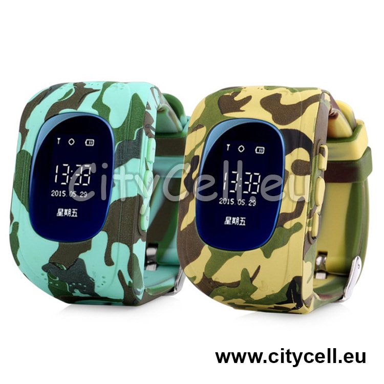 Gps Watch Kids Tracker GSP CY2 Army