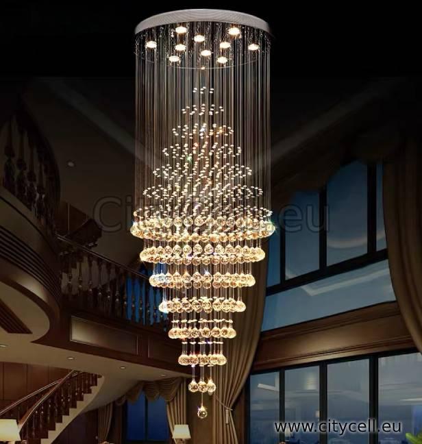 Crystal led Light Chandelier CityCell Spot Light